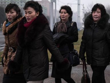 (تصاویر) روزهای سرد پیونگ یانگ