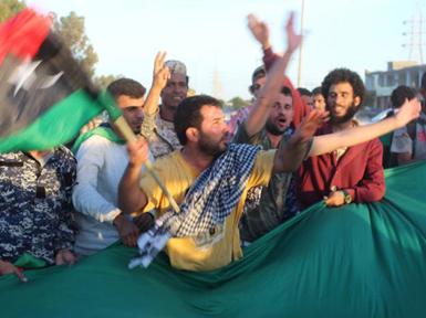 (تصاویر) پایتخت دوم داعش آزاد شد