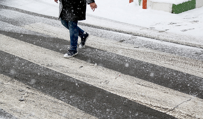 (تصاویر) بارش برف در تهران