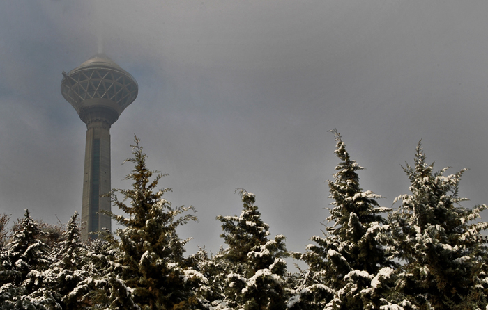 (تصاویر) برف در شمال تهران
