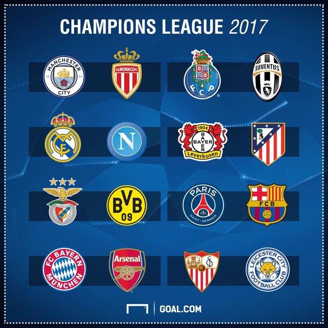 قرعه کشی یک هشتم نهایی لیگ قهرمانان اروپا