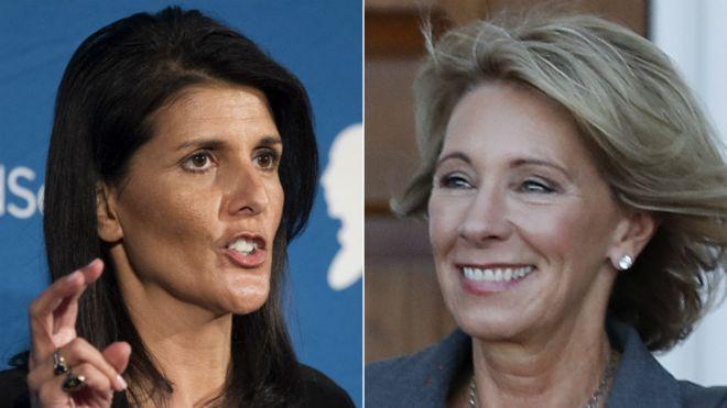 ترامپ دو پست مهم کابینه را به زنان سپرد