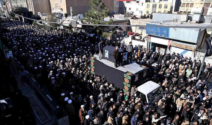 (تصاویر) مراسم تشییع آیتالله موسوی اردبیلی