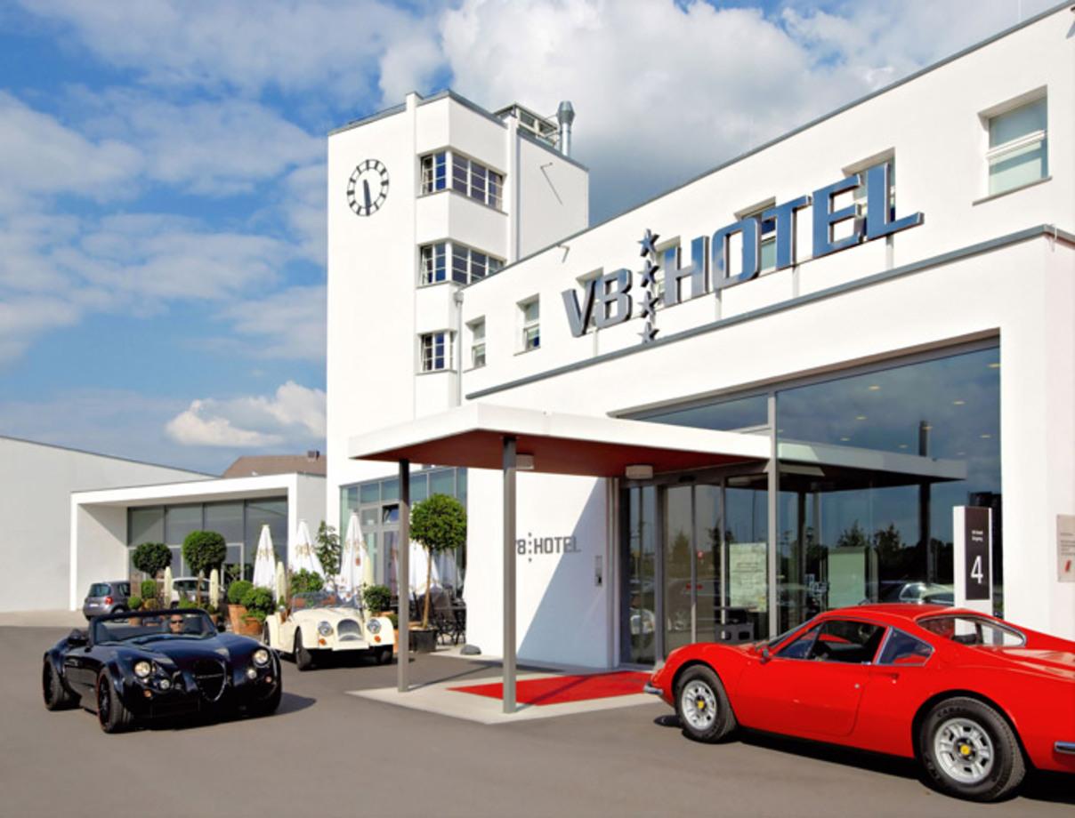 (تصاویر) هتل لوکس برای طرفداران ماشین