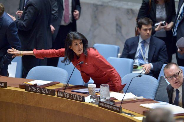 آمریکا بازهم سوریه را تهدید کرد