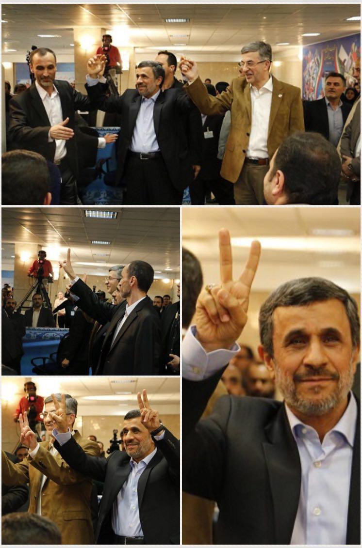 (عکس) احمدی نژاد، بقایی و مشایی آمدند!