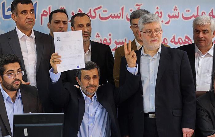 واکنش فعالان سیاسی به کاندیداتوری احمدی نژاد