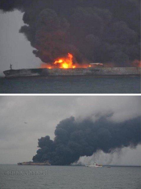 تصادف تانکر نفتی؛ ۳۰ ایرانی مفقود هستند