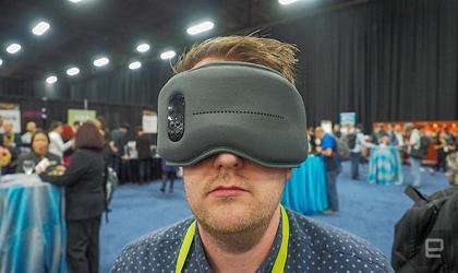 (تصاویر) چشمبند هوشمند خواب