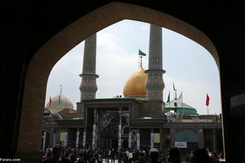 (تصاویر) حرم عبدالعظیم حسنی(ع) در شهر ری