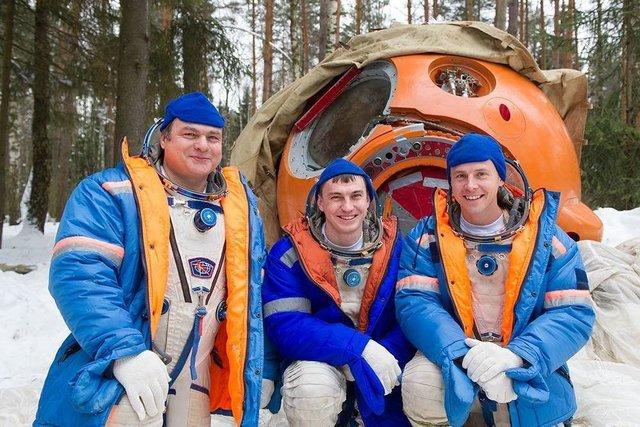 (تصاویر)با سرنشینان ایستگاه فضایی بینالمللی در سال 2018 آشنا شوید