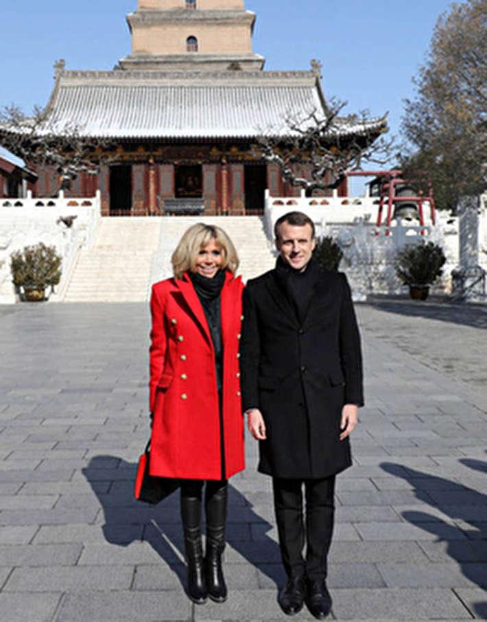 (تصاویر) حواشی سفر بانوی اول فرانسه به چین