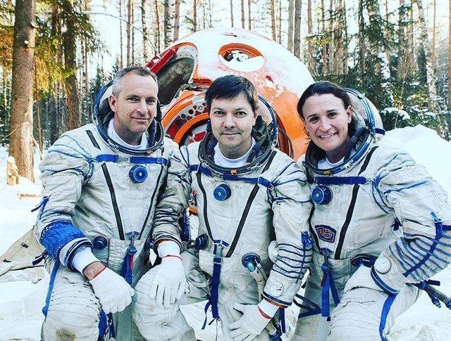 (تصاویر) سرنشینان ایستگاه فضایی بینالمللی سال ۲۰۱۸
