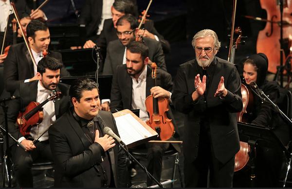 شبی متفاوت برای ارکستر ملی و سالار عقیلی