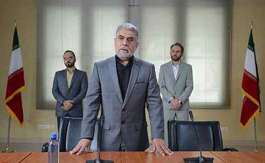 (تصاویر)حذف «الله» از پرچم ایران در یک سریال