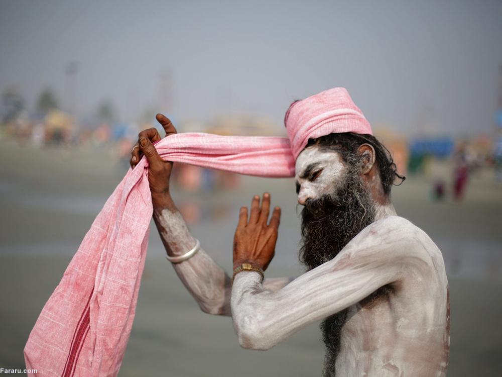 جشنواره ماهیگیری سالیانه روستاییان هندی. (ایی پی ای)