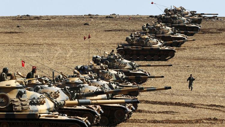 حملات خمپاره ای ترکیه به عفرین