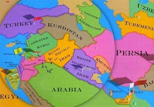 فاکسنیوز: نقشه خاورمیانه را تغییر دهید