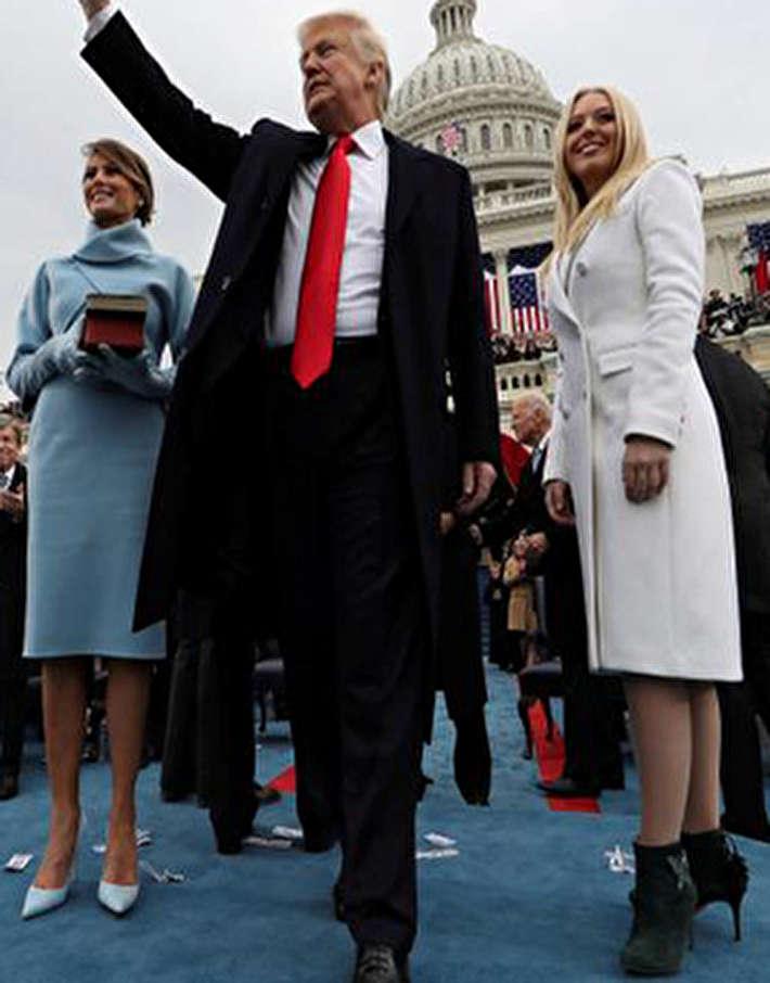 (تصاویر) تصاویر جنجالی سال اول ریاست جمهوری ترامپ