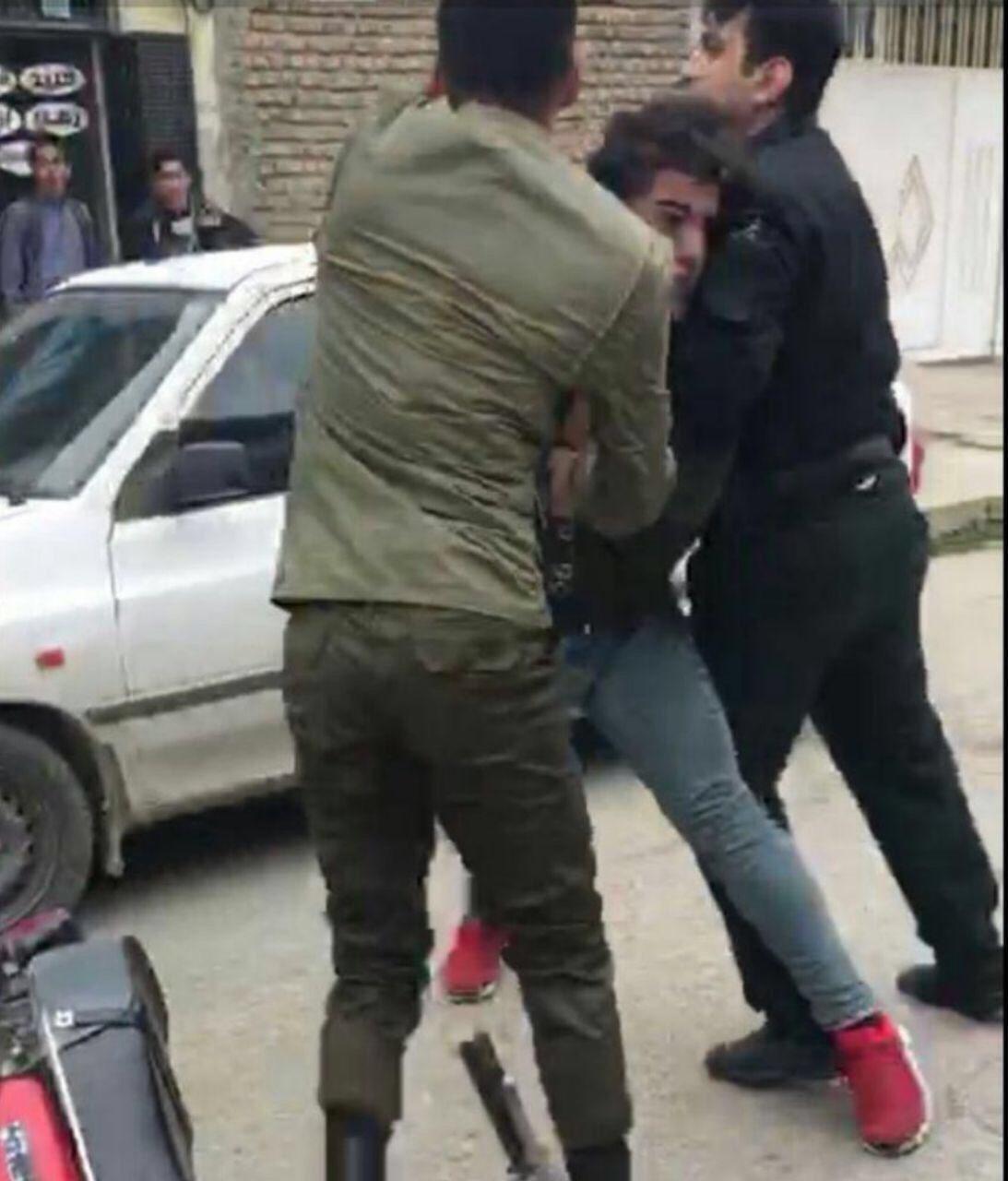 واکنش ناجا به کلیپ موتورسوار در کردکوی