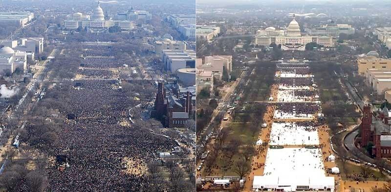 جمعیت حاضر در راهپیمایی را چگونه تخمین میزنند؟
