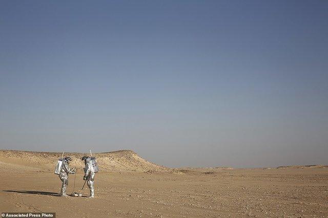 (تصاویر) زندگی مریخی در عمان