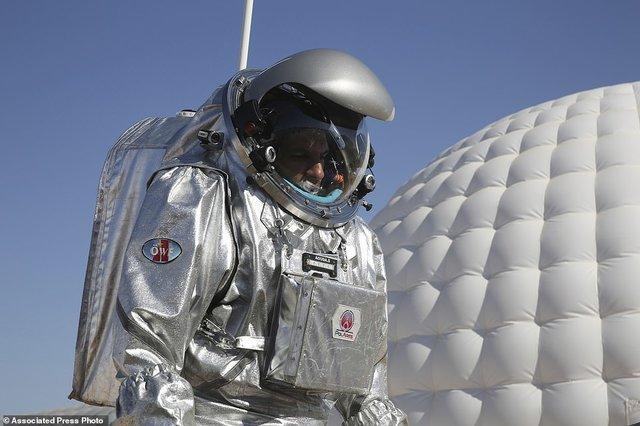 (تصاویر) زندگی مریخی در عمان ,