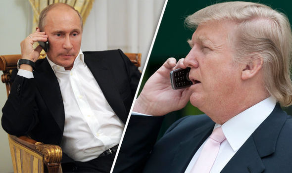 ترامپ با پوتین صحبت کرد ,