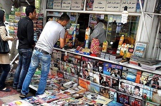 ساماندهی کیوسک های قلب تهران