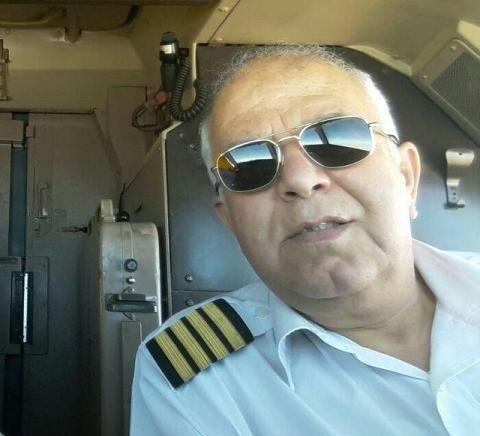(تصویر) کاپیتان های پرواز سقوط کرده تهران- یاسوج