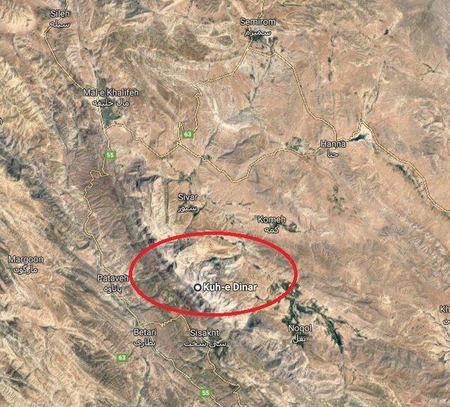 محل دقیق سقوط هواپیمای تهران یاسوج در سمیرم