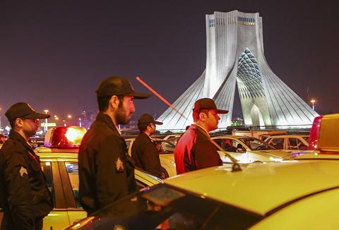 (تصاویر) آغاز طرح آرامش و امنیت شبانه تهران