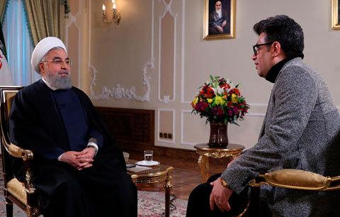 گفتگوی تلویزیونی روحانی؛ نه خانی آمد و نه خانی رفت!