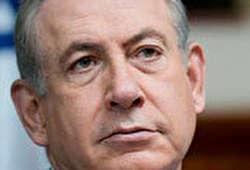 سخنرانی نتانیاهو علیه ایران با نمایش قطعات پهپاد!
