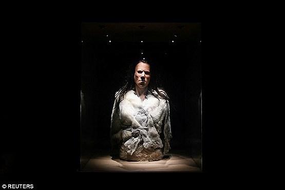 (عکس) دختر 9 هزار ساله پرده از یک راز بزرگ برداشت