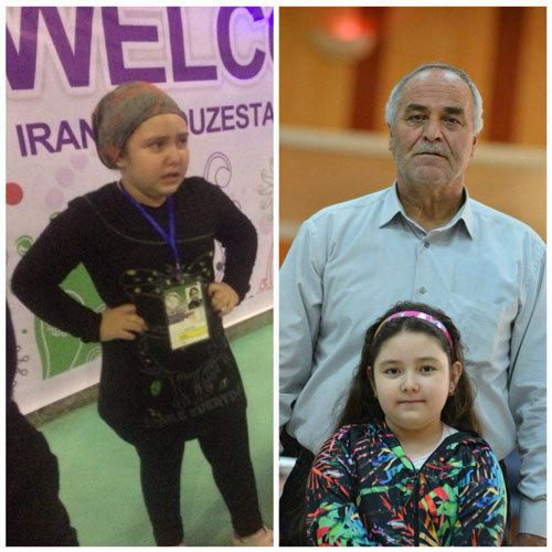 ممانعت حراست از وزنه زدن دختر بچه ۸ ساله