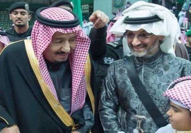دیدار پادشاه عربستان با زندانی بزرگ+ عکس
