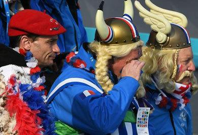 (تصاویر) از وایکنیگها تا بابانوئل در المپیک زمستانی