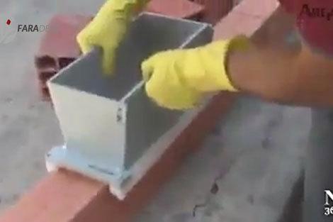 نوآوریهای جالب در بنایی با سادهترین ابزار