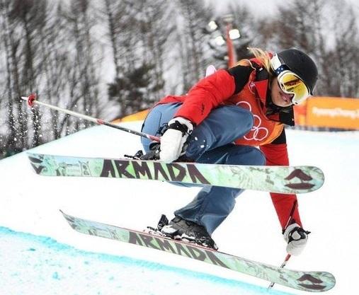 حقه دختر اسکی باز برای حضور در المپیک زمستانی