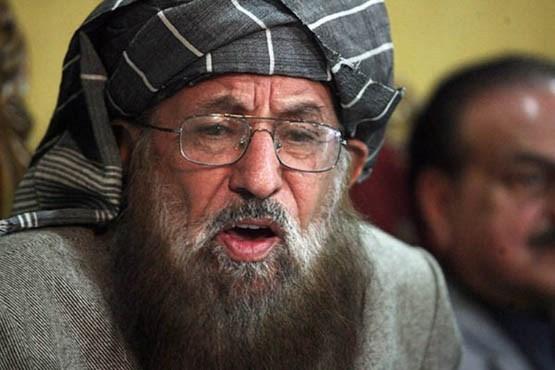(عکس) پدر معنوی طالبان در آستانه مرگ