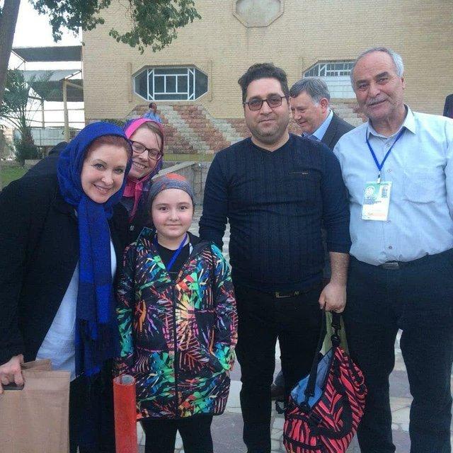 پیام نایب رییس IWF برای دختر 8 ساله اردبیلی