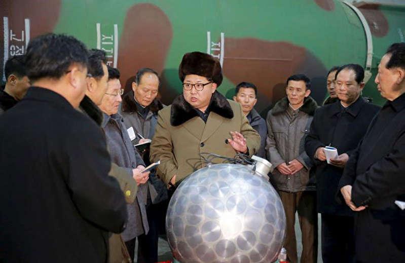 (تصاویر) خط پایان بلندپروازی هستهای رهبر کره شمالی؟!