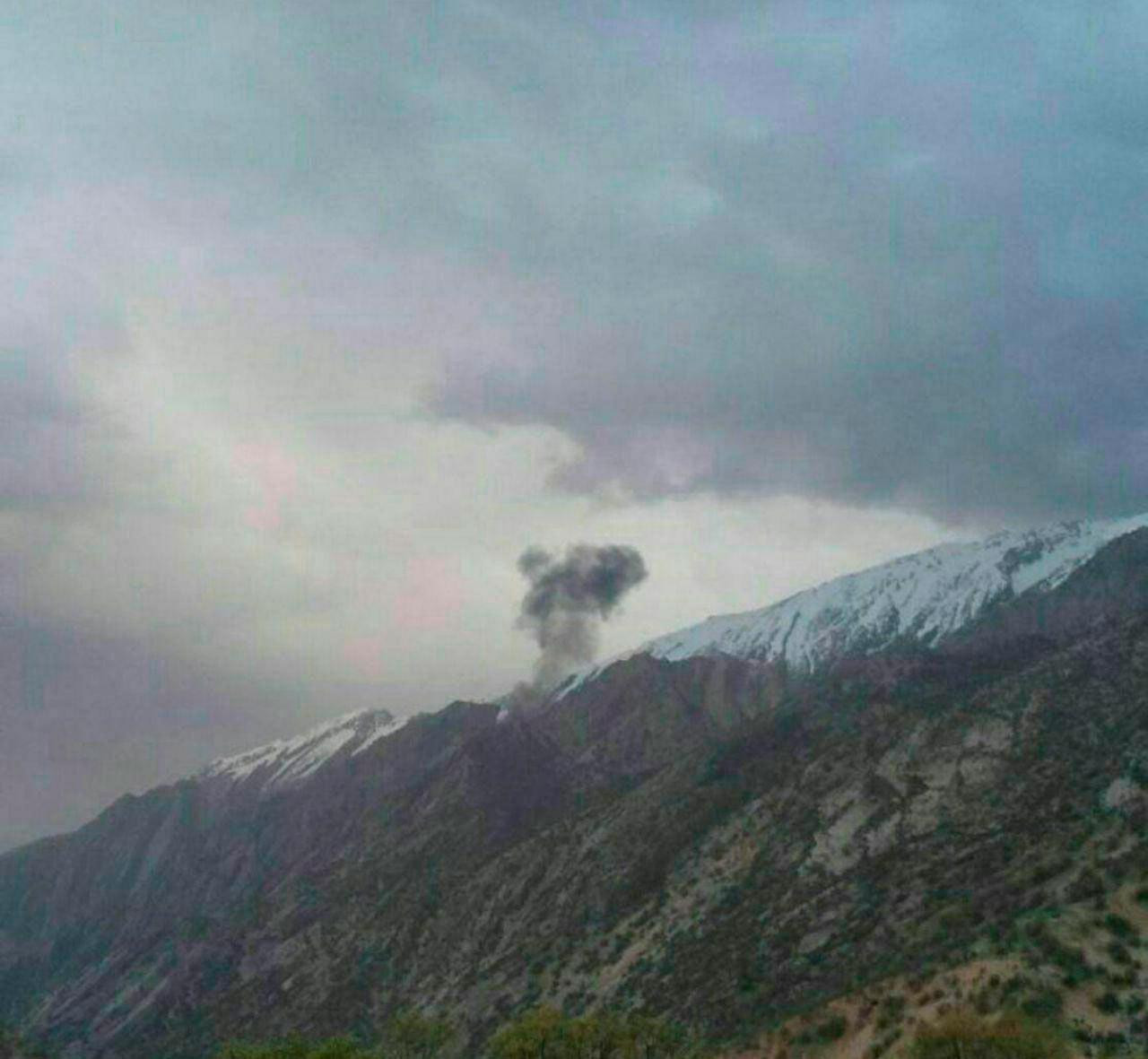 سقوط هواپیمای ترکیهای در حوالی شهرکرد