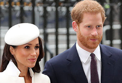 (تصاویر) حضور رسمی عروس جنجالی در کنار مقامات انگلیس
