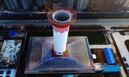 برج مکندهای که هوای پاک تولید میکند