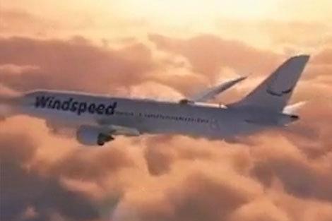 پروازی هیجان انگیز با هواپیمایی خاص