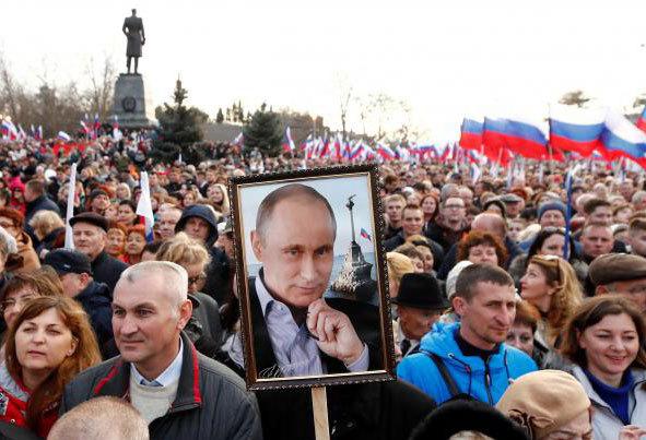 (تصاویر) رایگیری انتخابات ریاستجمهوری روسیه