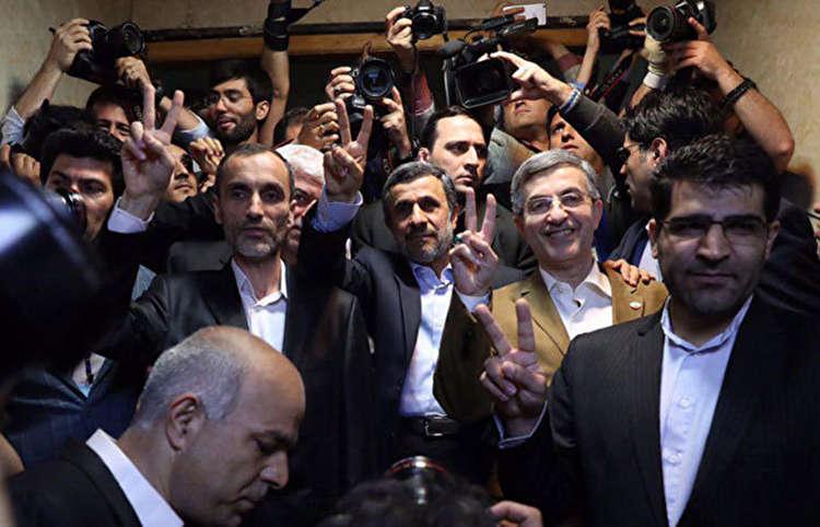هفت پرده از نمایش احمدینژاد و یارانش در سال ۹۶