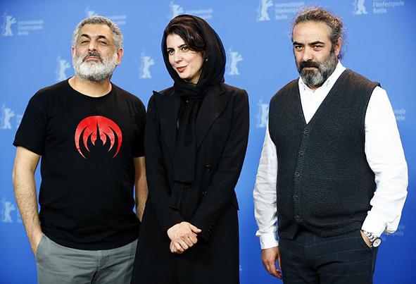 (تصاویر) کارگردان و بازیگران فیلم «خوک» در برلیناله